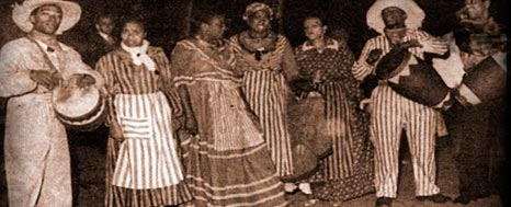 AFROARGENTINO DEL TRONCO COLONIAL