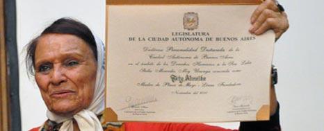 TATY ALMEYDA PERSONALIDAD DESTACADA
