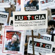 SEGUNDO ANIVERSARIO DE LA TRAGEDIA DE ONCE