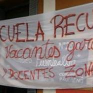 EXPROPIAN EDIFICIO DE LA ESCUELA  RECUPERADA