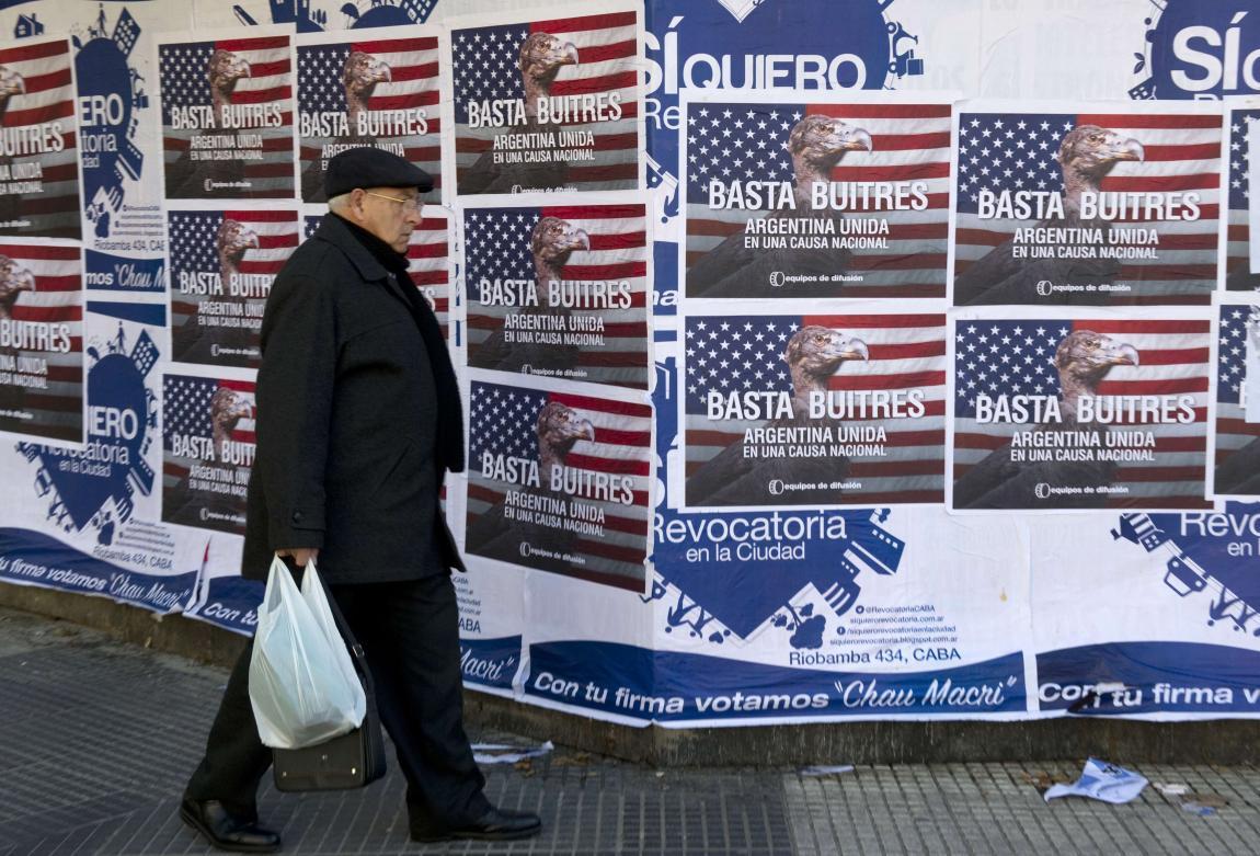 LA ARGENTINA Y LOS FONDOS BUITRES