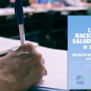 LEY DE SALUD MENTAL: LINEAMIENTOS PROFESIONALES