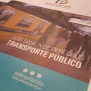 GUIA PARA USUARIOS DE TRANSPORTE PÚBLICO