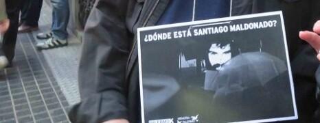¿DÓNDE ESTÁ SANTIAGO MALDONADO?