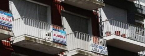 ALQUILERES EN ALZA EN LA CIUDAD