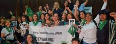 LAS MUJERES Y EL G20 EN LA CABA