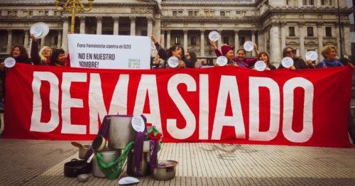 G20. CIUDAD VEDADA Y RESISTENCIA FEMINISTA