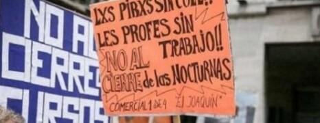 LAS ESCUELAS NOCTURNAS NO SE CIERRAN