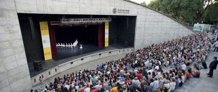 EL BALLET DEL COLÓN EN PARQUE CENTENARIO