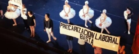 ARTISTAS PRECARIZADOS EN EL COLÓN