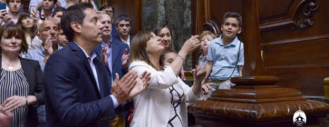 SESIÓN PREPARATORIA EN LA LEGISLATURA