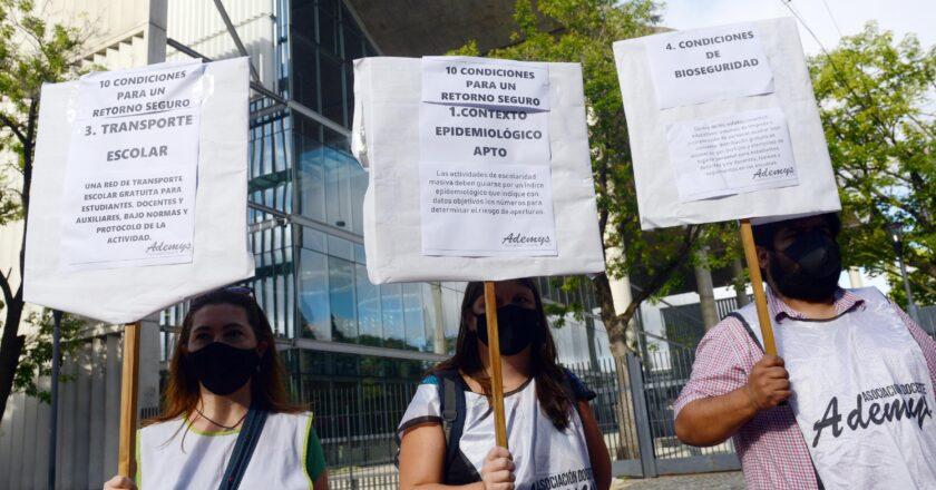 PARO Y PROTESTA DOCENTE EN LA CABA